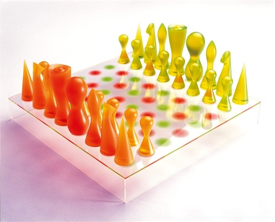 129 best images about chess on pinterest battle chess star wars chess set and game of - Karim rashid chess set ...