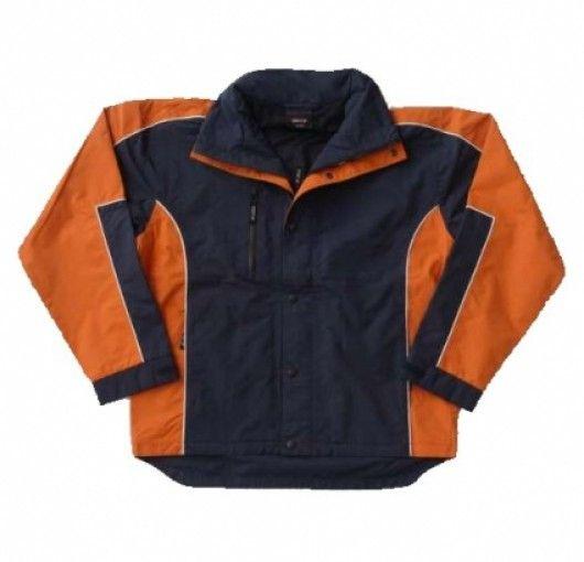 Concept Jacket-Navy/Orange - Boostup