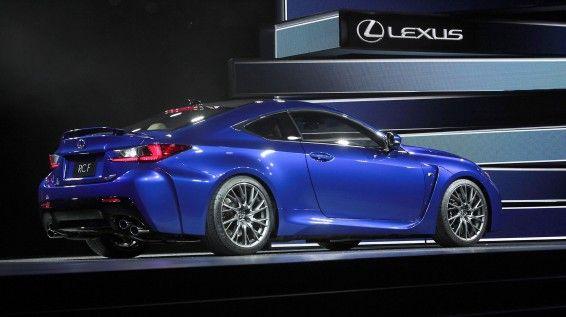 2015 Lexus RC F Revealed
