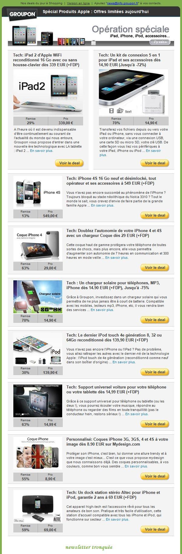 Top Plus de 25 idées tendance dans la catégorie Exemple de newsletter  AN79