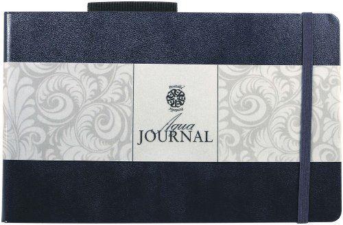 "Pentalic 5"" x 8"" 140 lb. (300 gsm) AF Aqua Journal 48 Pag..."