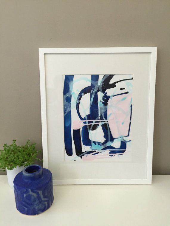 Abstracted by maggimcdonaldart on Etsy