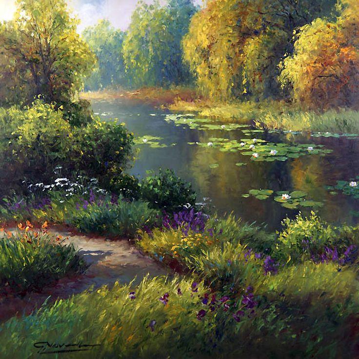 Nasıl güzel doğa ... Sanatçı Gerhard Neswadba. Rus Hizmeti Online Diaries - Kayd üzerine tartışma