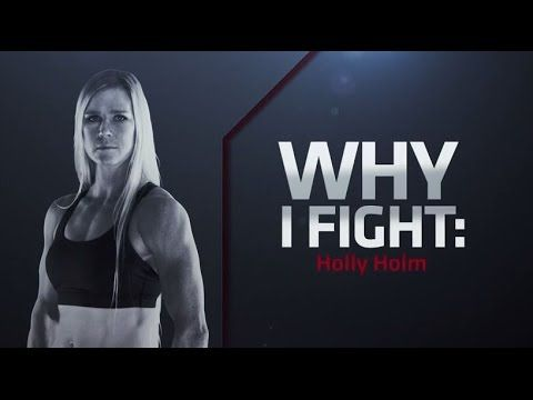 UFC 184: Why I Fight - Holly Holm. UFC newcomer and women's boxing legend Holly Holm explains why she fights, how she got involved, and her transition from boxing to MMA. Holm takes on Raquel Pennington in the co-main event at UFC 184 in Los Angeles.
