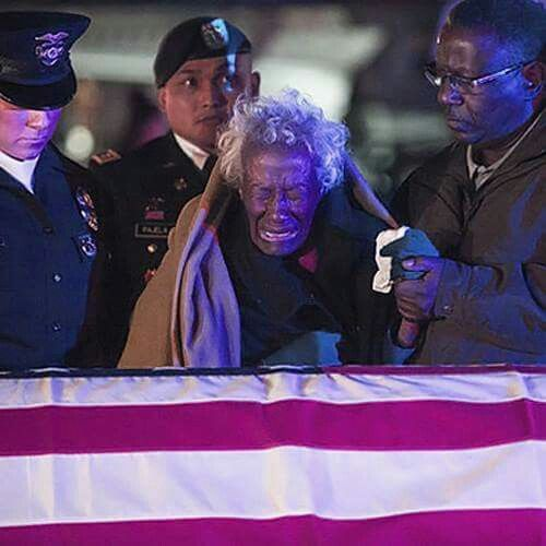 """For 63 years, the World War II and Korean War veteran was missing in action and presumed dead, but Clara Gantt, 94, held out hope and never remarried. On a cold, dark Friday morning on the Los Angeles International Airport tarmac, the widow stood from her wheelchair and cried as her husband's flag-draped casket arrived home. """"I am very, very proud of him. He was a wonderful husband, an understanding man,"""" she told TV reporters at the airport. """"I always did love my husband, we were two of…"""