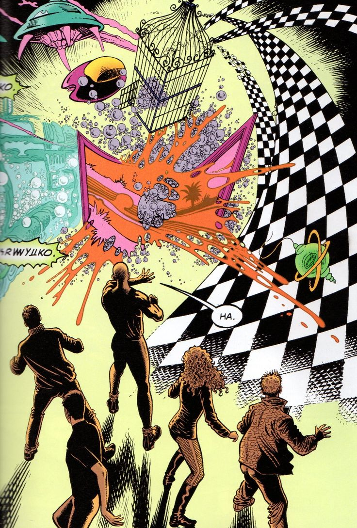 Are You an Invisible? —Manichean Mutant Metamorphosis, A Chaos Magic Artifact Brought Out of a Reading of THE INVISIBLES by Grant Morrison