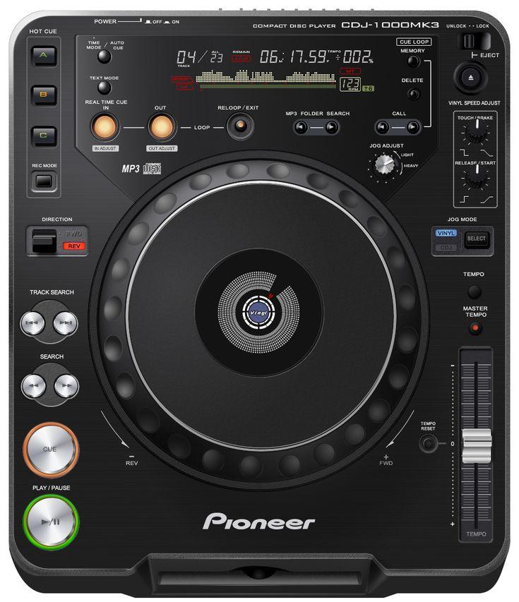 GUI - Pioneer CDJ - 1000 MK3 by Aracama.deviantart.com