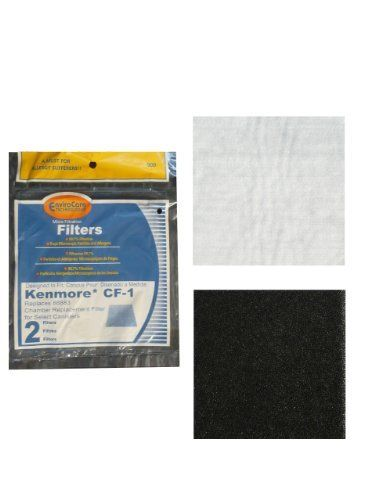 awesome (2) Kenmore Sears Progressive Foam Filter CF1, Progressive & Whispertone, Panasonic Vacuum Cleaners, 86883, 86880, 20-86883, 2086883, 8175084