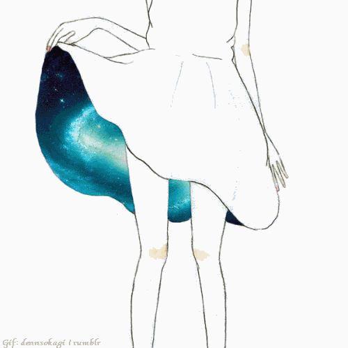 New Artwork: Galaxy Skirt