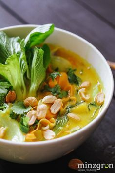 Mango Curry Suppe
