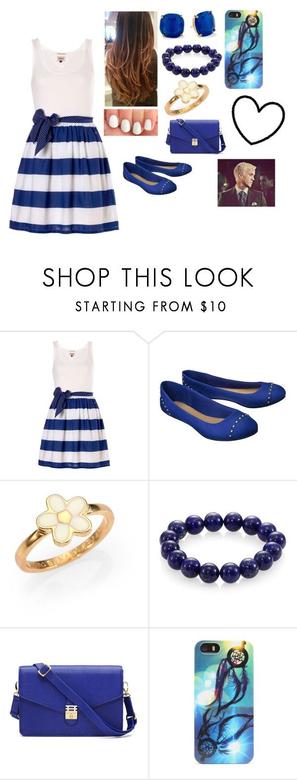 """""""Date with Draco Malfoy! (Requested)"""" by anissa-xoxo ❤ liked on Polyvore featuring Tommy Hilfiger, Merona, Marc by Marc Jacobs, Nest, Kate Spade and With Love From CA"""