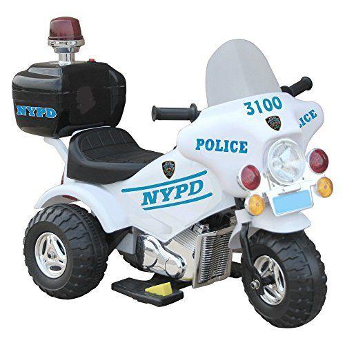 Giggo Toys NYPD Motorbike Battery Powered Motorcycle