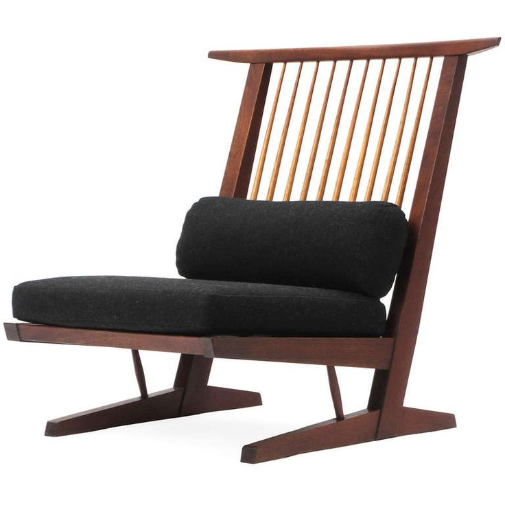 Conoid lounge chairs by george nakashima sillas for Furniture 0 interest