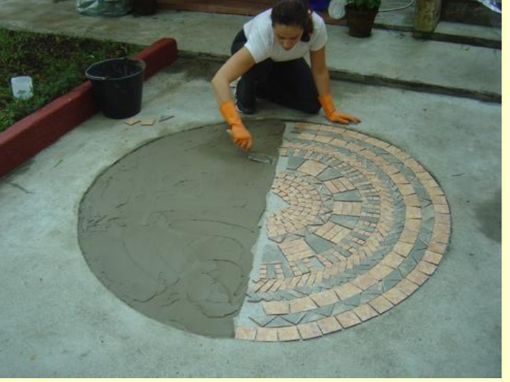 1000 images about mosaicos mandalas on pinterest marble for Mosaico para piso