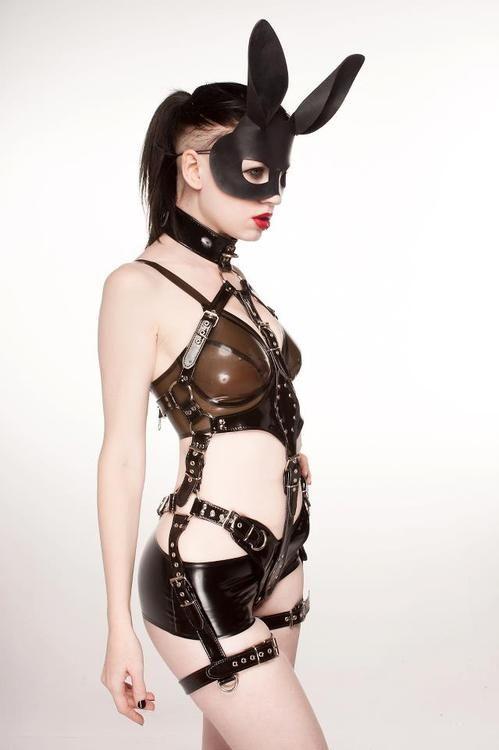 Sexy girls bunny bdsm