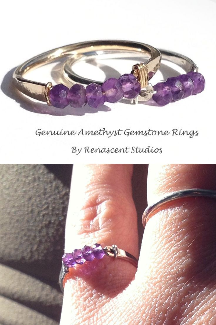 Amethyst helps promote calm, balance, and peace. It is also the perfect gift for those with February birthdays!
