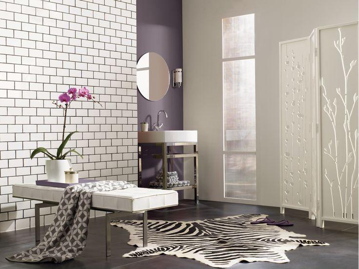 Bathroom Color Trends 2014 124 best purple interiors images on pinterest | home, purple walls