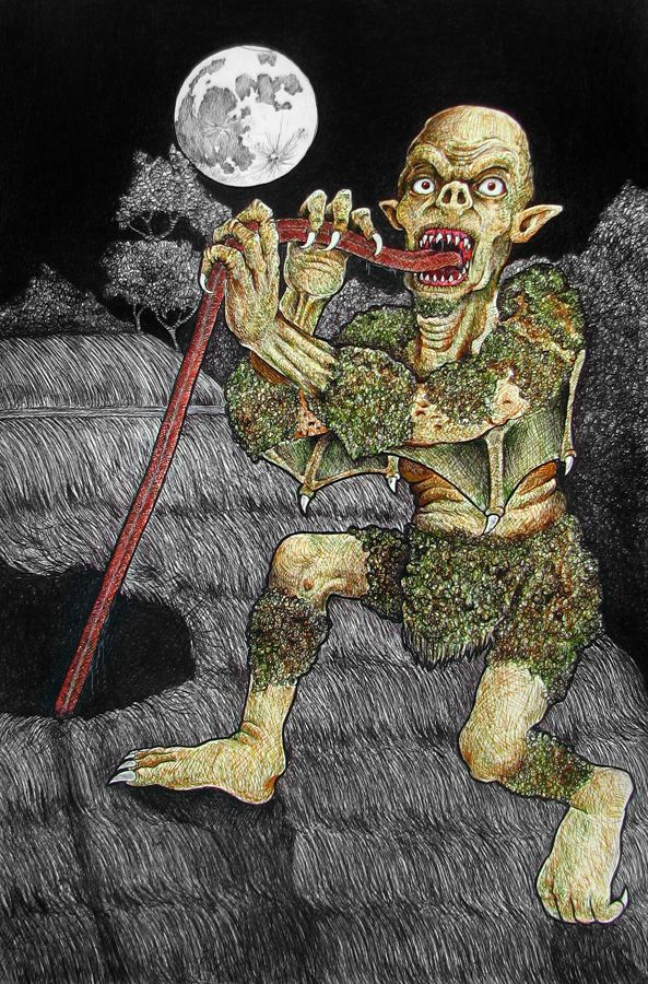 Philippines' BALBAL __ In Philippine mythology, a Bal-Bal is a monster that steals corpses whether it is in a funeral or grave and feeds on them.