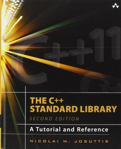 The C++ Standard Library: A Tutorial and Reference 2nd Edition Pdf Download e-Book