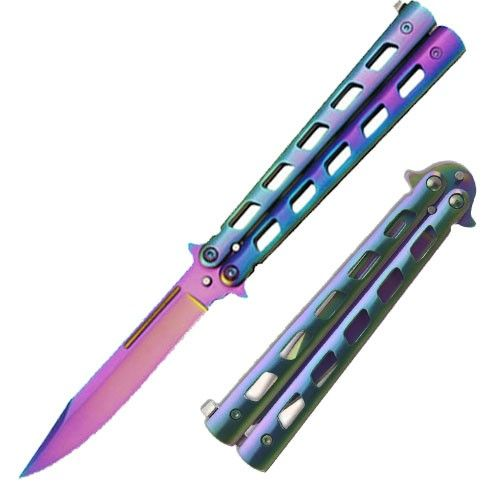 This is the balisong (aka butterfly knife) that I desperately want. Isn't it gorgeous?