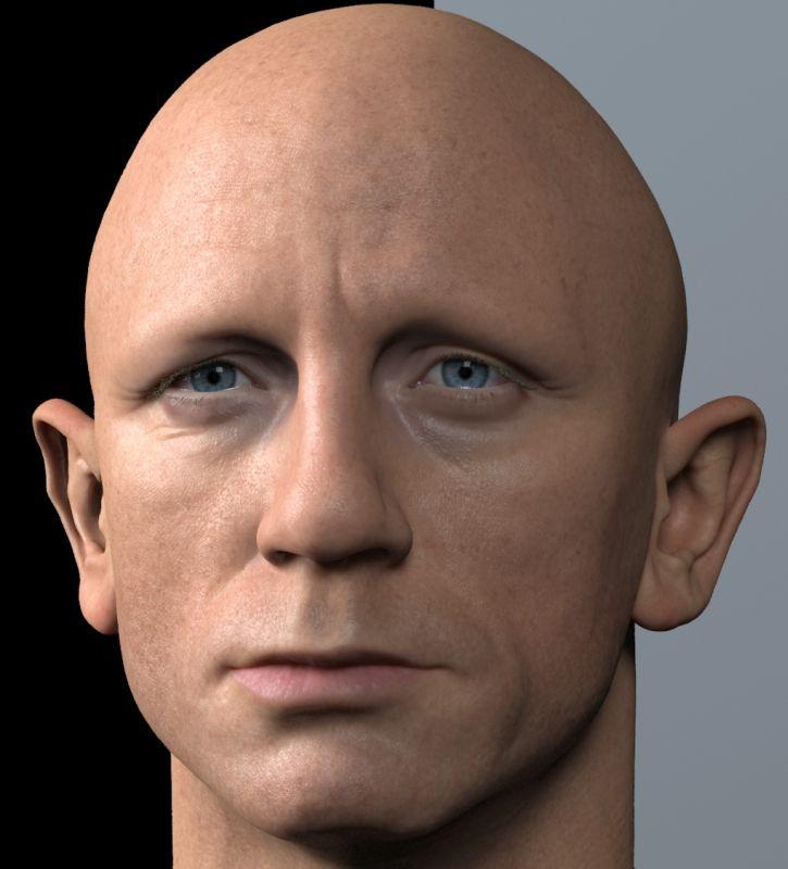 Making of Realistic 3D Art of Daniel Craig (James Bond) in Zbrush | CGVILLA