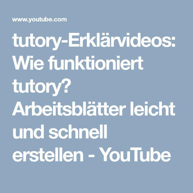 tutory erkl rvideos wie funktioniert tutory arbeitsbl tter leicht und schnell erstellen. Black Bedroom Furniture Sets. Home Design Ideas