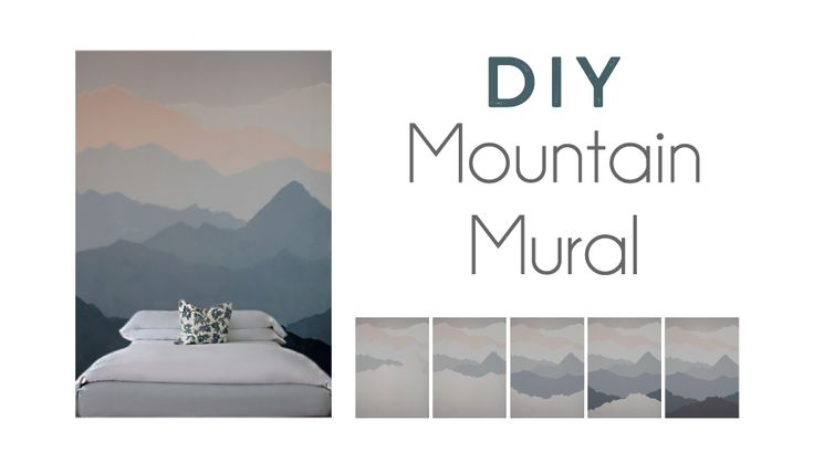 I truly believe that our surroundings shape our mood… To create your own mountain mural, check out my instructions below. This shop has been compensated by Collective Bias, Inc. and its adver…