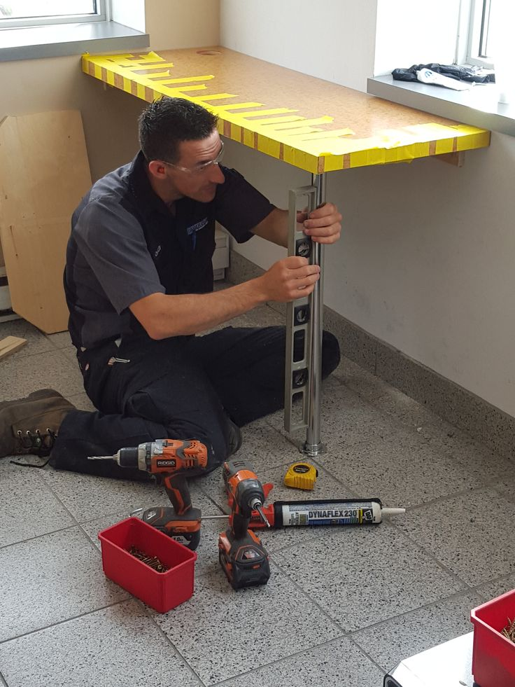 Charles is one of our trained technicians that is an all around a handy man!