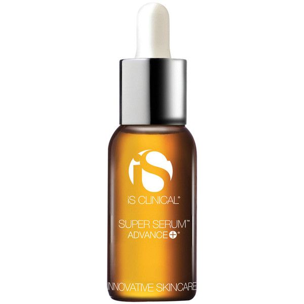 IS CLINICAL TREAT SUPER SERUM ADVANCE + SUPER SERUM™ ADVANCE+ is a scientifically advanced, clinically-proven formula that, for the first time, combines a 15 percent concentration of our next generation vitamin C (L ascorbic acid) with Copper Tripeptide Growth Factors for enhanced anti-aging properties. SUPER SERUM™ ADVANCE+ also contains powerful botanical antioxidants, and safe skin lighteners. Reduces appearance of fine lines and wrinkles. #ISCLINICAL #Serum #faceserum #antiwrinkle