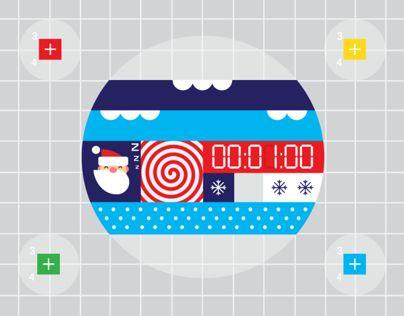 Google Santa Tracker Animations