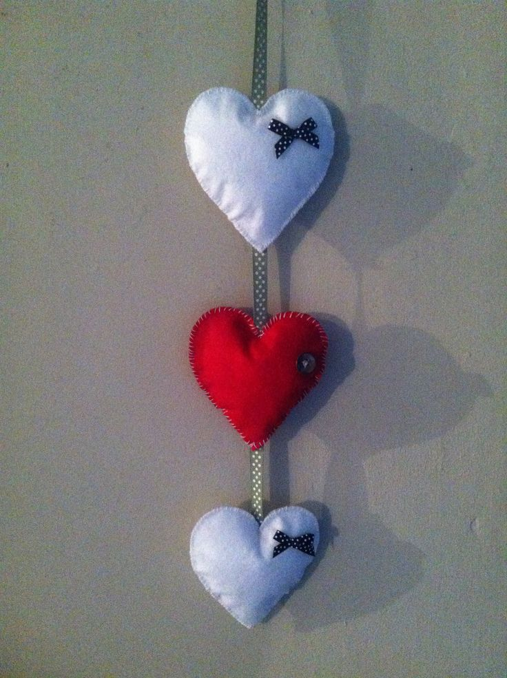 Hearts for the cottage