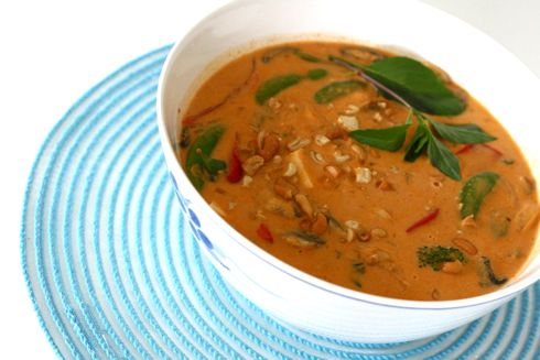 Panang Curry - vegetable curry recipe | recipris