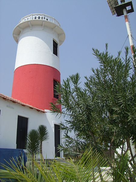 "Lighthouse ""Lobito"" in Lobito, Angola"