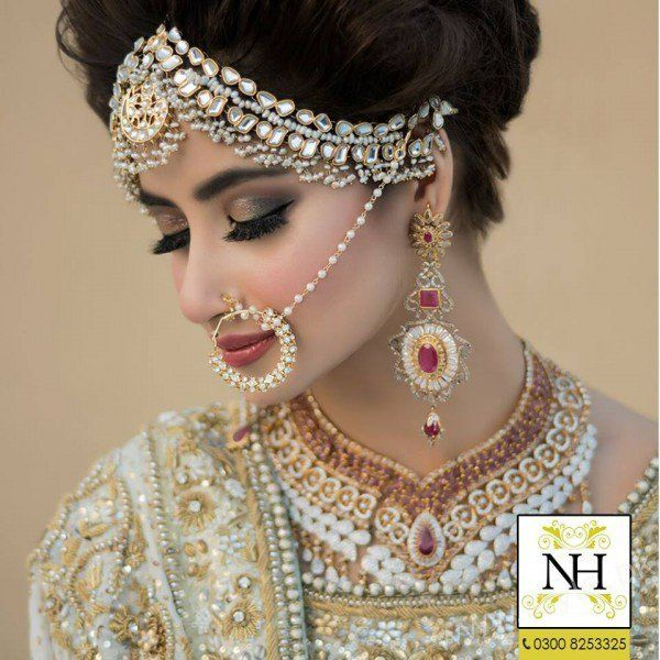 Bridal Photoshoot Sajal Ali Nadia Hussain Salon