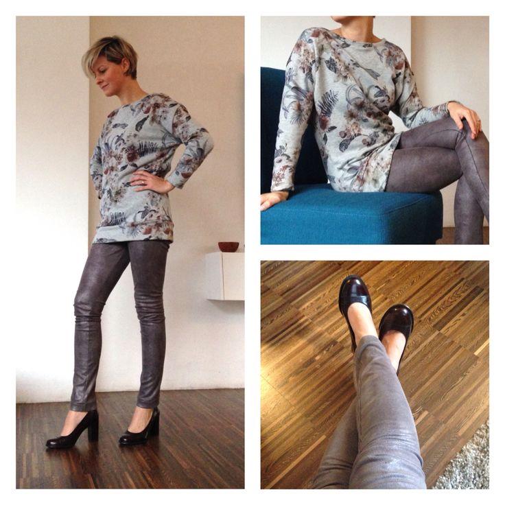 Chessie top + Roxy legging - La Maison Victor - Stof bij Histoires de Couture