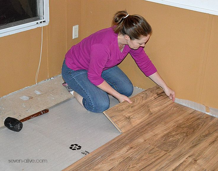 13 best How to Lay Laminate Flooring images on Pinterest