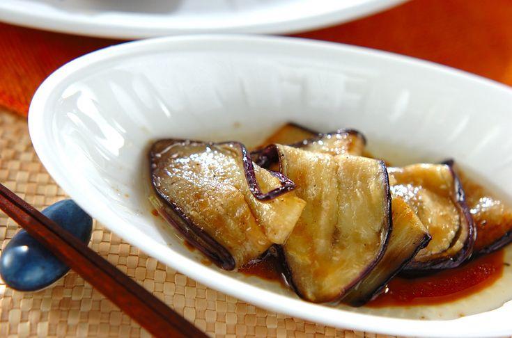 焼きナスのマリネのレシピ・作り方 - 簡単プロの料理レシピ | E・レシピ