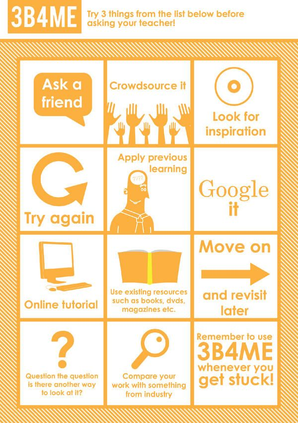 Encourage independent thinking in the classroom with this great printable poster.