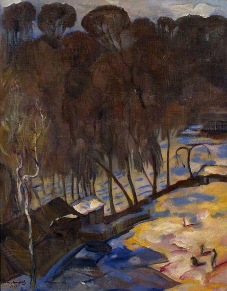 Анисфельд - Early Spring - Petrograd, 1917