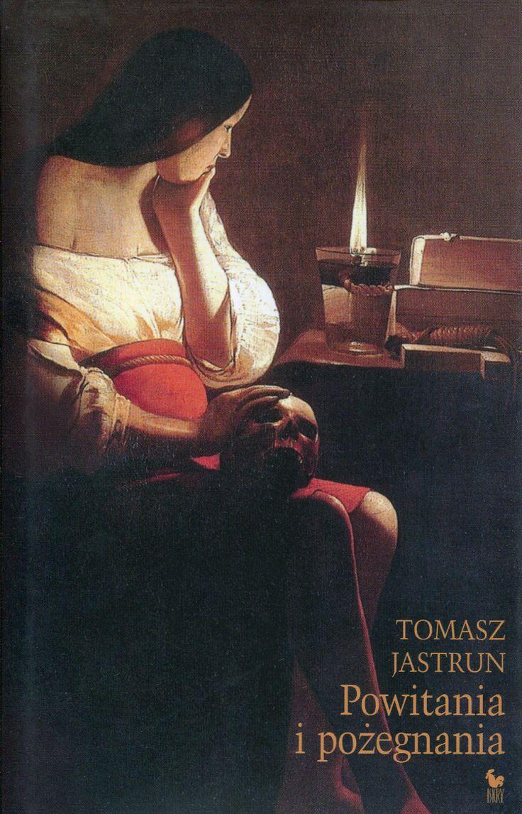 """""""Powitania i pożegnania"""" Tomasz Jastrun Cover by Janusz Barecki Published by Wydawnictwo Iskry 2007"""