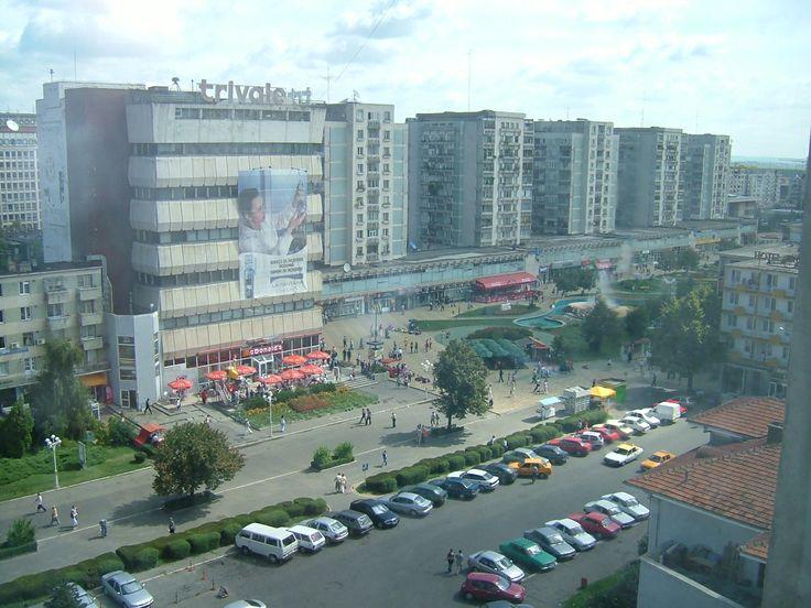 The view of Pitesti centre, Romania