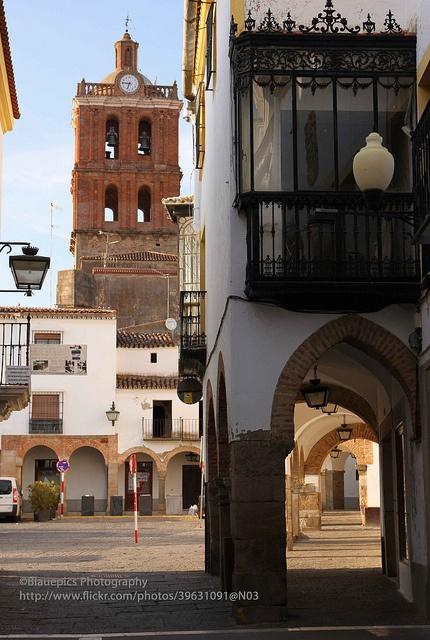 Zafra, Plaza Grande by blauepics, via Flickr