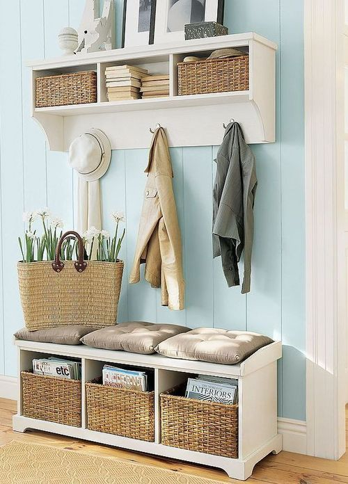 Lovely entrance.: Mudroom, Entryway Ideas, Benches, Coats Racks, Mud Rooms, Front Doors, Hou, Storage Ideas, Hallways Storage