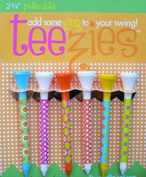 teezies golf tees for women - this should be in every woman's bag!