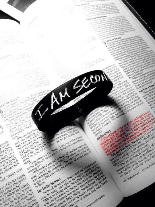 I am second...to my savior, Jesus Christ