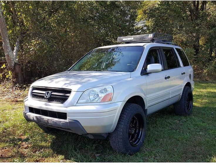 Lifted Honda Pilot Off road Roof Rack Honda pilot Honda