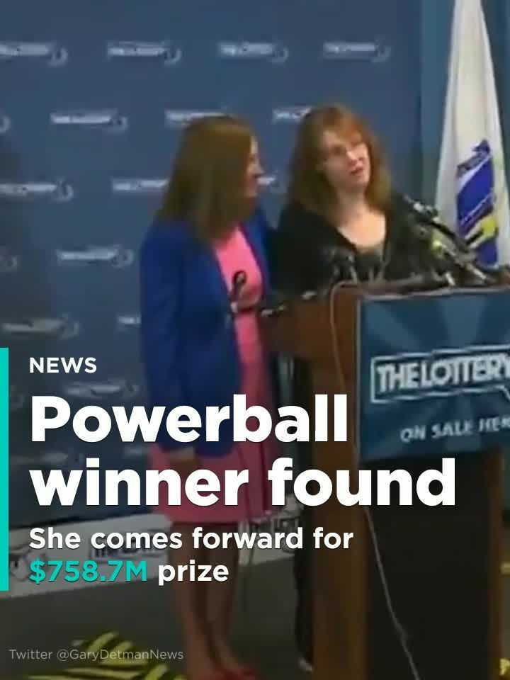 The Latest: Winner comes forward for $758.7M Powerball prize