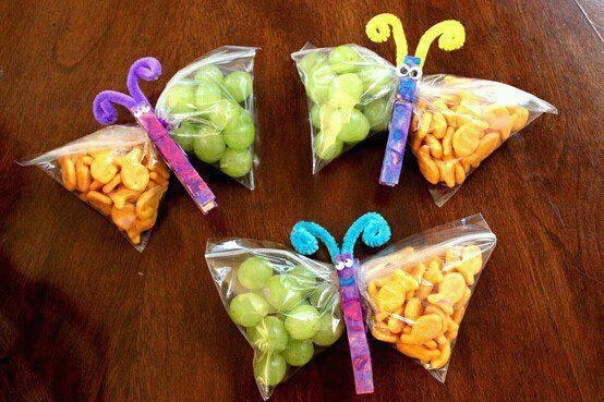 Cute idea for snack day at colts school but we would have to make it less girly :)