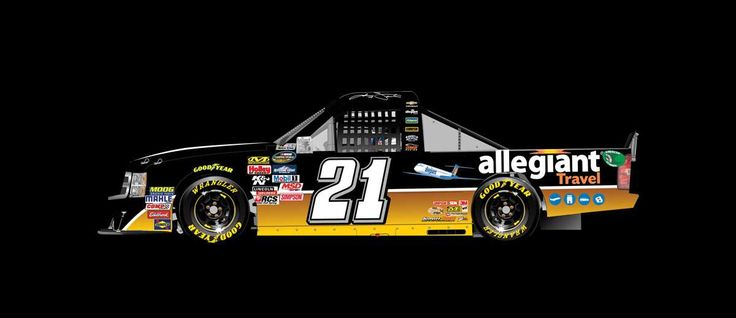 Paint Scheme Preview: Dover:   Wednesday, May 11, 2016  -   Johnny Sauter will drive the No. 21 Allegiant Travel Chevrolet.