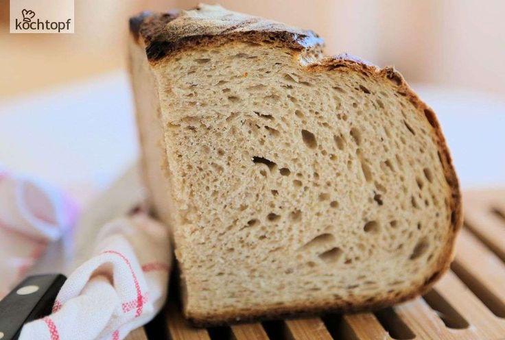 Das Brot-Topfback-Fieber ist ausgebrochen! Sandra backt seit September Topfbrote oder DOpf-Brote, wie sie sie nennt. Schelli hat kürzlich einen Vergleich gemacht - Brot im Topf gegen superduper Manz. Topfbrot hat gewonnen.